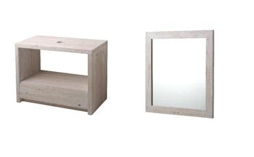 Cabinet + Mirror - Technical drawing